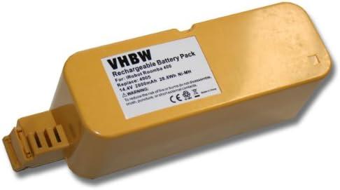 vhbw Batería NiMH 2000mAh (14.4V) compatible con Vileda M-488a aspirador reemplaza APS 4905.: Amazon.es: Hogar