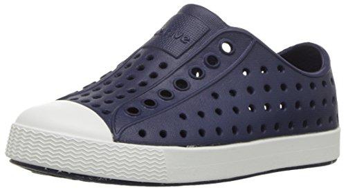 Native Shoes Jefferson Child, Espadrilles Mixte Enfant, Bleu foncé (Regatta Blue/Shell White), 22 EU / 6 US C