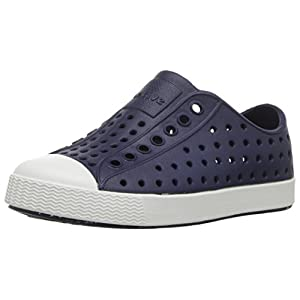 Native Shoes - Jefferson Child, Regatta Blue/Shell White, C8 M US