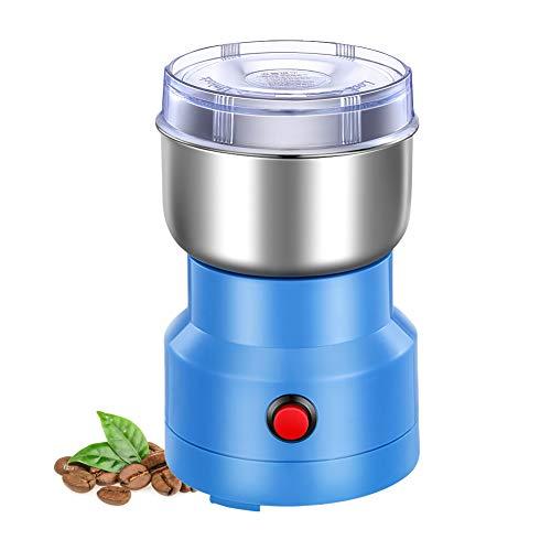 Afaneep Molinillo Eléctrico De Café, 150W Molienda Para Granos De Café Nueces Especias Cereales Con Hoja De Acero Inoxidable, Capacidad 150G Compacto Molinillos Molinos