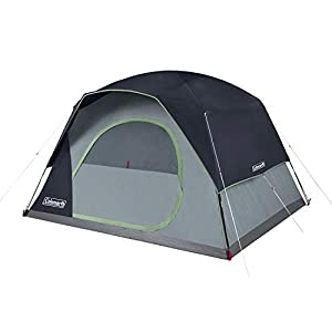Coleman Camping Tent   Skydome Tent, Blue, 6 Person