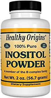 Healthy Origins Inositol Powder, 2 Ounce