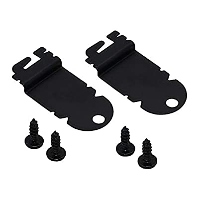 AMI PARTS 8212560 Dishwasher Side Mounting Bracket Kit ?2 PACK? - Compatible with Kenmore & Whirlpool Dishwashers - Replaces AP3953705,1201084.