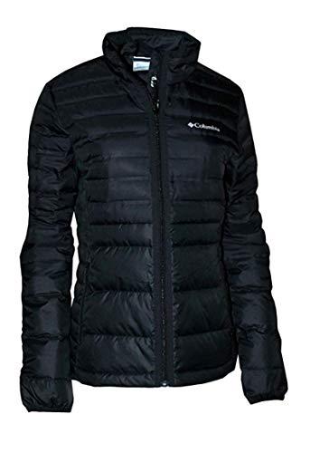 Columbia Women's Lightweight McKay Lake Down Full Zip Puffer Jacket (Black, M)