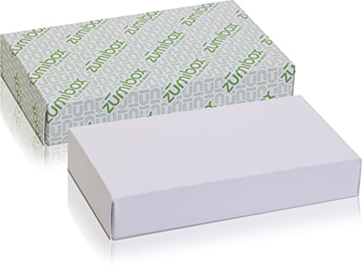 DIY Customizable Two-Piece Matte White Jewelry Box Favor Box