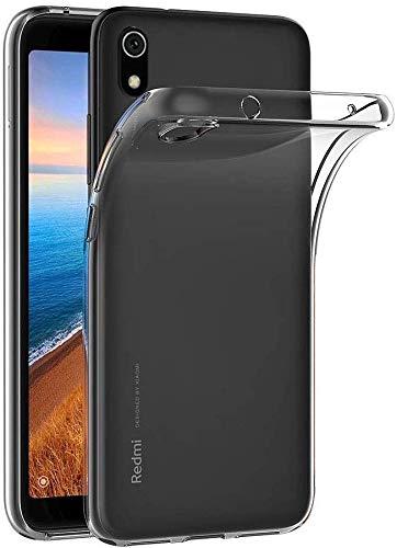 Capa Capinha Para Xiaomi Redmi 7A Tela 5.45Polegadas Capinha Transparente Clear Ultra Fina Silicone - Danet (Transparente)
