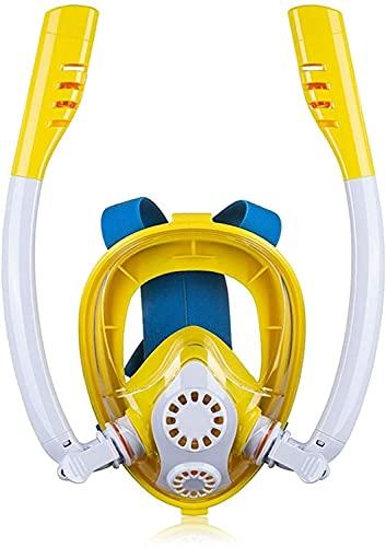 GTJF Máscara de Buceo Máscaras de Buceo Máscara de Snorkel Máscara de Buceo Submarino Anti Niebla Cara Completa Cara de Snorkel Máscara para Mujeres Hombres Natación Natación Snorkel Equipo de Buceo