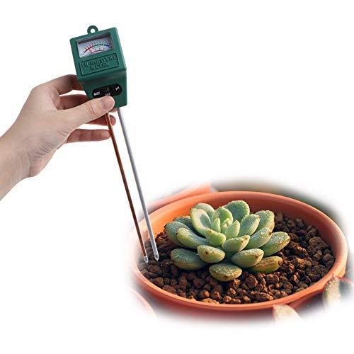 Best Bargain HLL 1PC 3 in 1 PH Tester Soil Water Moisture Light Analized Test Meter Detector Garden ...