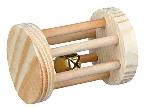 Trixie 6184 Spielrolle, Kleintiere, Holz, ø 5 × 7 cm