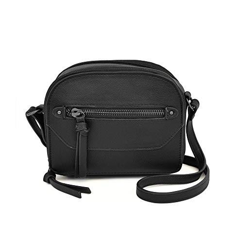 Nicole Miller Handbags Rocky Small Crossbody in Black
