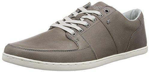 Boxfresh Herren Spencer ICN LEA MGRY/GRIF Gry Sneakers, Grau (MED Grey/Griffin Grey), 41 EU
