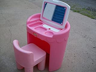 Little Tikes Little Girls' Pretend Play Vanity & Chair