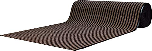 goedkoopste-tapijten Deurmat loper Honiara - 130 x 300 cm - Bruin