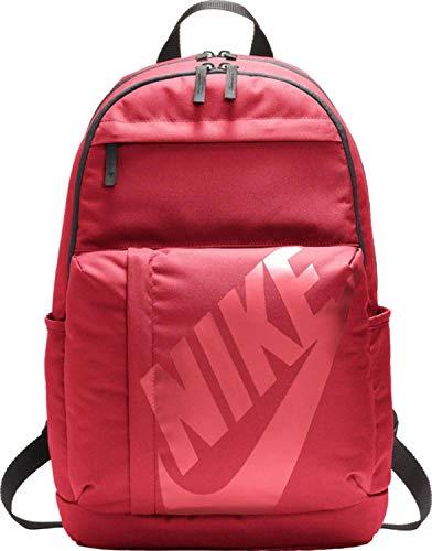 Nike Elemental Backpack Rucksack, Noble Red/Black/Bordeaux, One Size