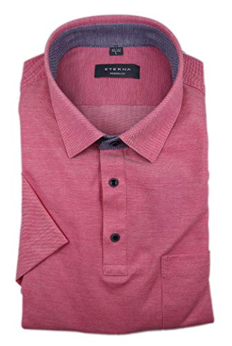 eterna Herren Poloshirt Modern Fit Kurzarm rot (74) 42