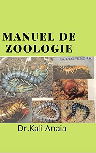Couverture du livre Manuel de zoologie