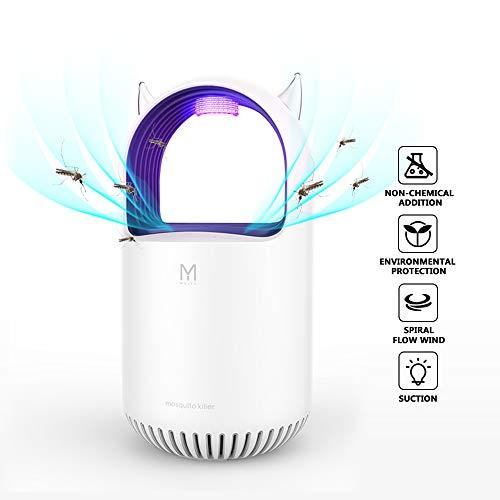 PECHTY Elektrischer Insektenvernichter, UV Insektenfalle Mückenlampe LED Mückenvernichter USB Mückenlampe Mückenschutz Mückenfalle Elektrischer Insektenfalle für Innen Außeneinsatz