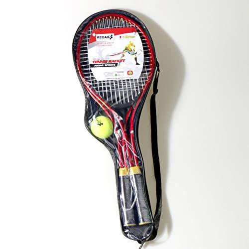 MLPNJ 2 Stück/Set Tennisschläger Adult Teenager Chindren Für das Training Tennis Feines Material Material Tennis String Training Ball