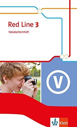 Red Line 3: Vokabellernheft Klasse 7 (Red Line. Ausgabe ab 2014)