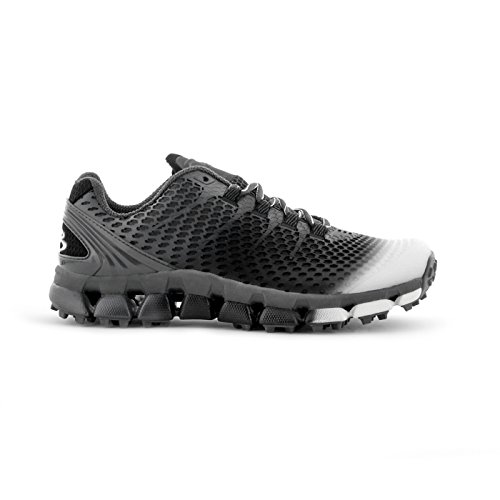 Boombah Men's Riot DT DPS Fade Turf Charcoal/Black - Size 8