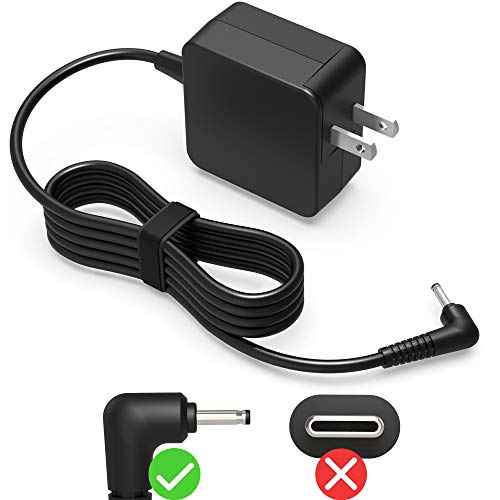 """UL Listed 7.5Ft AC Charger Fit for Samsung 11.6"""" Chromebook 3 2 XE500C13 PA-1250-98 XE501C13 XE303C12 XE500C12 XE503C12 XE503C32 XE500c13-k04us W14-026N1A BA44-00322A Laptop Power Adapter Supply Cord"""