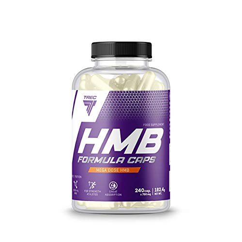 Trec Nutrition HMB amino acid, L-Leucine, fat-free muscle mass bodybuilding
