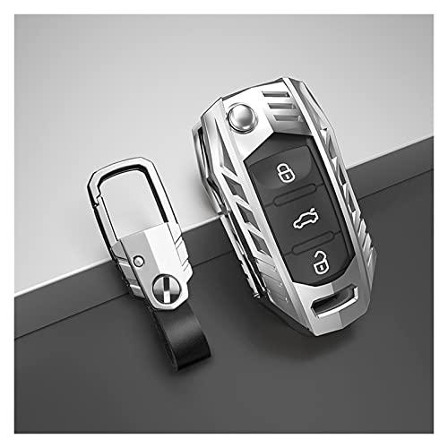 Impetuous Copertura della Cassa Chiave dell'automobile Adatta per Volkswagen VW. Polo Tiguan Passat. B5 B6 B7. Golf EOS 4 5 6 Scirocco Jetta. MK4 MK6. Accessori per sedili di ottavia