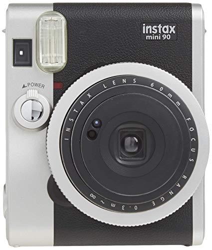 FUJIFILMインスタントカメラチェキinstaxmini90ネオクラシックブラックINSMINI90NC