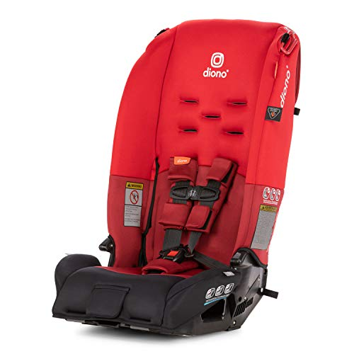 Best Deals! Diono 2019 Radian 3R All-in-One Convertible Car Seat, Red
