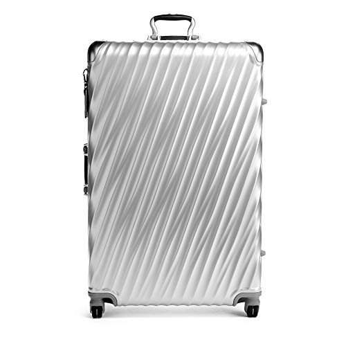 TUMI - 19 Degree Worldwide Trip Packing Case Large Suitcase - Hardside Luggage for Men and Women - Silver