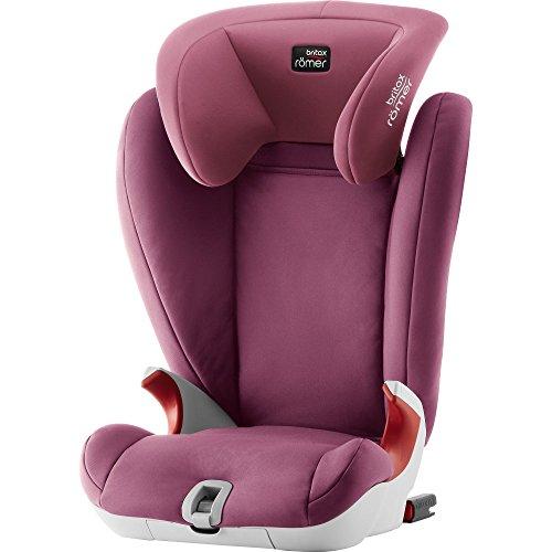 Britax Römer Kindersitz 3,5 - 12 Jahre I 15 - 36 kg I KIDFIX SL SICT Autositz Gruppe 2/3 I Wine Rose