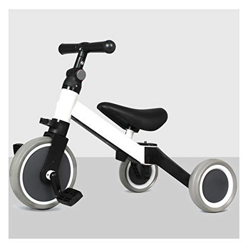 GJNWRQCY 3 in 1 kinderen driewielers voor 1-3 jaar oud 3 wiel peuter fiets jongens meisjes trikes voor peuter driewielers baby fiets Trike