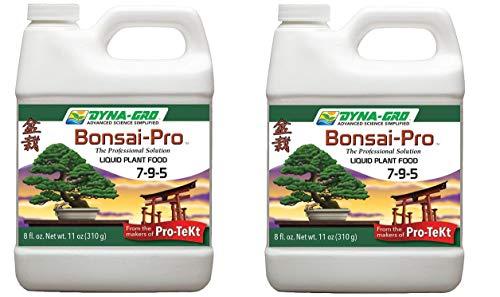 Dyna-Gro BON-008 Bonsai-Pro Liquid Plant Food, White, 8 oz. (2-(Pack))