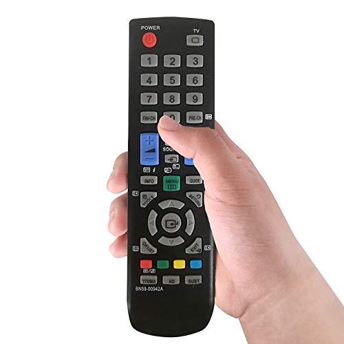 Remplacement de Télécommande Samsung Smart TV BN59-00942A pour Samsung Smart TV LE26A456C2D LE26A456C2C LE32A437T2D