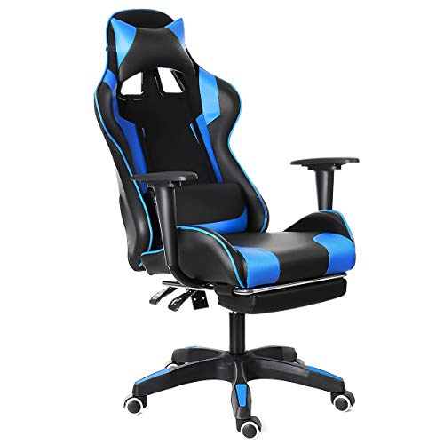 HALLOLURE Gaming Chair, Racing Style Gaming Office Chair Reclining Ergonomic...