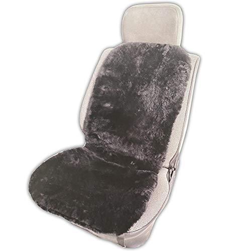 PUREWORK Auto Sitzauflage Echtes Lammfell 106 x 45 cm Autositzauflage Lammfellsitzauflage Sitzaufleger Sitzschoner