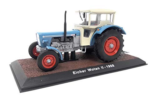 Atlas DieCast Metall Miniaturmodelle Modellauto 1:32 Historischer Traktor 1968 Eicher Wotan II