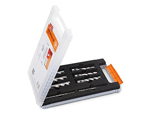 Fein 63133999010 accessoireset Best of Kernboor QuickIN, zilver, No Size, 8 stuks