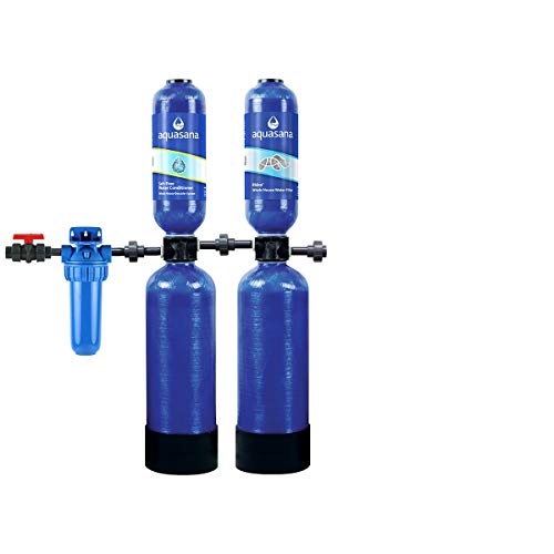 Aquasana Rhino Whole House Water Filtration System (600,000 Gal plus Water Descaler)