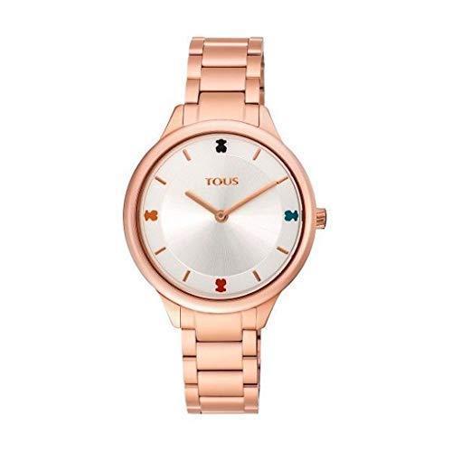 Reloj 900350105 tous Tartan de Acero IP Rosado