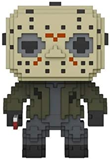Funko Pop 24596  8-Bit Friday the 13th Jason Voorhees