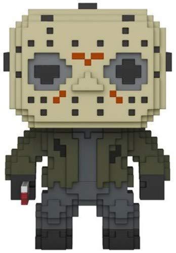 Funko- Pop Vinile 8-Bit Jason Voorhees Action Figure, Horror, 9 cm, 24596