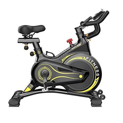 Wghz Bicicleta estática Spinning Bicicleta estática, Fitness Deportes Inicio Equipo de Ciclismo Familiar Smart Mute Cardio Bike