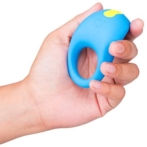 ROMP Penisring Juke, Vibro Cockring mit 6 Intensitätsleveln und 4 Vibrations-Modi, aus Silikon mit Klitoris-Stimulation, wieder-aufladbar, dehnbar und wasserdicht
