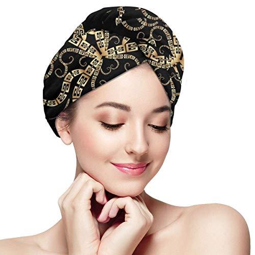 QHMY Serviettes de Cheveux de mer Profonde (24) Capsules de Cheveux à séchage Rapide pour Spa de Bain
