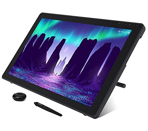 Xyfw Lápiz Gráfico Tableta Monitor Pantalla De Lápiz Pantalla Antirreflejo De 21,5 Pulgadas 120% S RGB Windows Mac Y Dispositivo Android