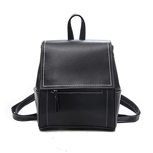 CMZ Backpack Casual Backpack Ladies Versatile and Versatile Fashion Simple Backpack College Style Campus Leisure Backpack