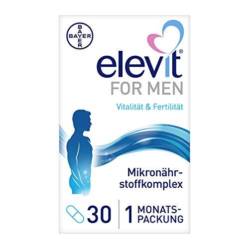 Elevit® FOR MEN, 30 Tabletten, Vitamine und Mineralstoffe für die männliche Vitalität und Spermienqualität
