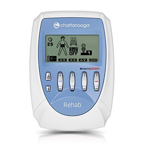 Compex Rehab estimulador muscular profesional, 4 canales independientes