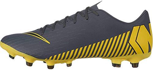 Nike Vapor 12 Academy Mg - Botas de fútbol para hombre, color Gris oscuro, negro y gris oscuro., tamaño 44 EU